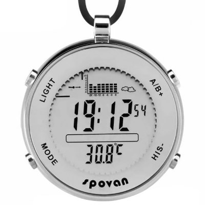 Spovan Military Digital Fishing Barometer Watch Thermometer Altimeter