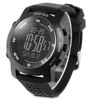 Spovan Military Digital Climbing Mountaineering Watch
