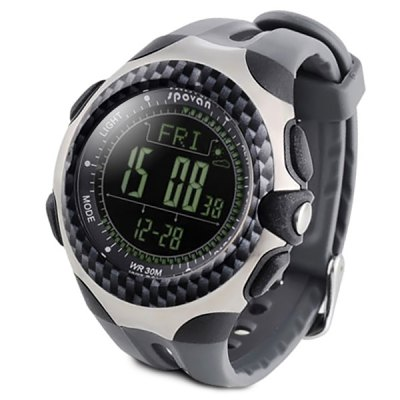 Mingo Outdoor Sports Climbing Mountaineering Watch Multi - function Thermometer Altimeter Barometer Compass Watches