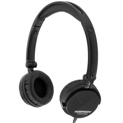 KEENION KDM  -  903 Foldable Over - ear Headpone with Mic Answer End Phone Function
