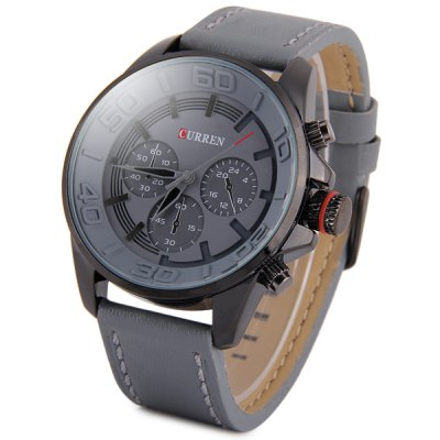 Curren 8187 Men Quartz Watch Analog Wristwatch
