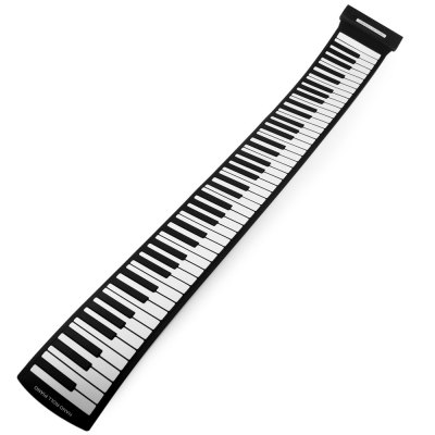 MD88S 88 Keys USB MIDI Electronic Roll Up Pinao Kit Support Windows Mac System