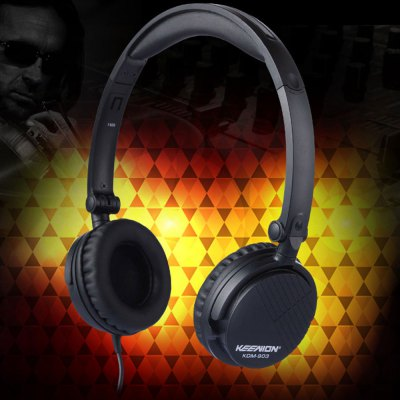 KEENION KDM  -  903 Foldable Over Ear Headpones with Mic Answer End Phone Function