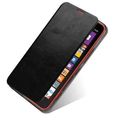 Mofi Phone Cover PU Case with Stand Function for Nokia Lumia 535