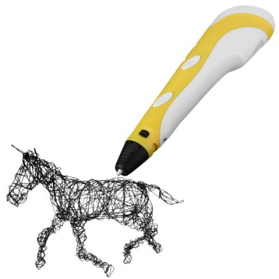 3D Printer Pen with ABS Material for Children Present ( 100  -  240V )