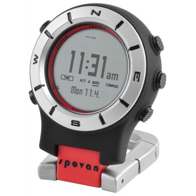 Spovan Multifuctional Outdoor Sports Military Mountaineering Watch Barometer Altimeter Thermometer Compass Climbing Watches
