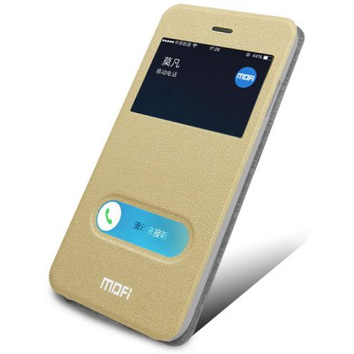 Mofi Sliding Answer Design PU and PC Cover Case for iPhone 6 Plus  -  5.5 inches