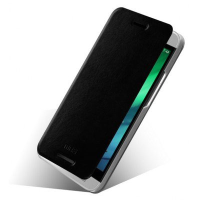 Mofi Phone Cover PU Case Skin with Stand Function for HTC One E8
