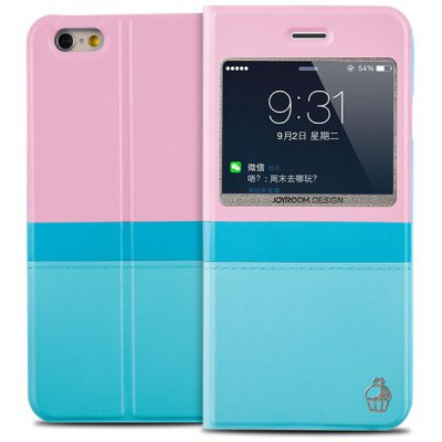 Joyroom PU and PC Material Contrast Color Cover Case for iPhone 6 Plus  -  5.5 inches