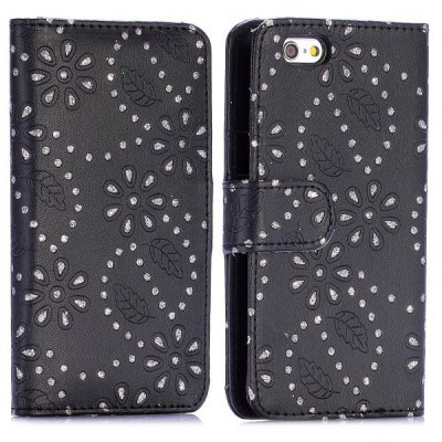 4.7 inch PC + PU Phone Cover Case Protector with Stand Function for iPhone 6