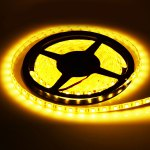 HML 72W 5M 300 x SMD 5050 6000Lm 3300K DC 12V RF Water - resistant Flexible LED Strip Light + Controller