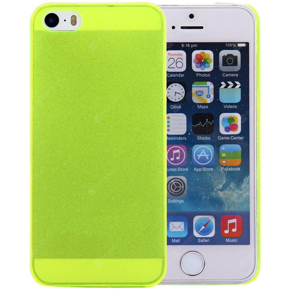 Protective Back Cover Case Frosted Design Solid Color iPhone SE / 5 5S-1.37 Online Shopping GearBest.com