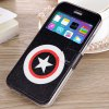 cheap Fashionable Pentagram Pattern PU and TPU Case Cover for iPhone 6  -  4.7 inches