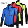 Arsuxeo 14D Fleeces Cycling Jacket Wind Coat Long Sleeve Bike Bicycle Outdoor Racing Running Clothes