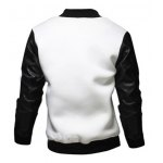 cheap Stylish Stand Collar Slimming Large Pocket Zipper Design Long Sleeve Polyester Jacket For Men