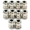 cheap Durable M12 Metal Water Resistant 3  -  7mm Connectors Cable Glands for Learners to DIY  -  10PCS