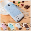 cheap Fabitoo Novel Silicone Phone Cover Case with Lanyard for Samsung N7100 Note 2 etc.
