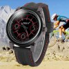 S - 1039 Big Number Dial Sports Watch with Bright Color Rubber Band deal