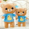 best Cute Bear Style 17.7 inch Clothing Relax Bear Plush Stuffed Doll Toy