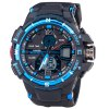 cheap SanDa 289 Military Dual - movt Watch Water Resistant Muliti - function LED Watches for Outdoor Sports