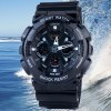 SanDa 226 LED Military Watch Dual Movt Water Resistant Muliti - function for Outdoor Sports for sale
