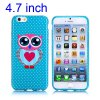 Owl Pattern 4.7 inch TPU Cover Case Protector Skin for iPhone 6 photo