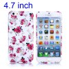 Flower Pattern 4.7 inch TPU Cover Case Protector Skin for iPhone 6 deal