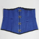 cheap Vintage Strapless Button Design Lace-Up Women's Corset
