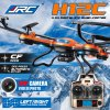 JJRC H12C Headless Mode 2.4GHz 4CH RC Quadcopter 6 Axis Gyroscope 360 Degree Stumbling RTF UFO with 5.0MP HD Camera