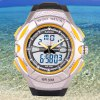 SanDa 707 Water Resistant Wristwatch Analog Digital LED Military Watch Multifunction for Outdoor Sports deal