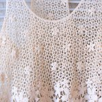 Crochet Floral Lace Tank Top deal