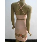 Sexy Spaghetti Strap Candy Color Dress For Women deal