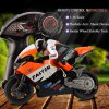 cheap JXD 806 2.4GHz Radio Control 1 / 16 Scale Motorbike with Inertia Wheel Device + Realistic Shock Absorber