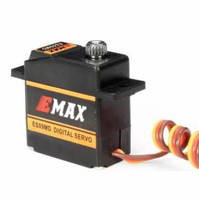 EMAX ES09MD Metal Gear Analog Swash Servo for Tarot 450 Helicopter Tail RC Copter Spare PartsMulti Rotor Parts<br>EMAX ES09MD Metal Gear Analog Swash Servo for Tarot 450 Helicopter Tail RC Copter Spare Parts<br><br>Type: Servo<br>Package weight: 0.05 kg<br>Package size (L x W x H): 6 x 5 x 4 cm / 2.36 x 1.97 x 1.57 inches<br>Package Contents: 1 x Servo, 5 x Servo Arm, 3 x Screw