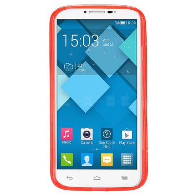 S Shape TPU Back Cover Case for Alcatel One Touch Pop C9 Dual 7047DCases &amp; Leather<br>S Shape TPU Back Cover Case for Alcatel One Touch Pop C9 Dual 7047D<br><br>Compatible models: Alcatel One Touch Pop C9 Dual 7047D<br>Features: Back Cover<br>Material: TPU<br>Style: Solid Color, Novelty<br>Color: Purple, Black, Gray, White, Transparent, Pink, Red, Blue<br>Product weight: 0.030 kg<br>Package weight: 0.090 kg<br>Product size (L x W x H) : 14 x 7 x 1 cm / 5.50 x 2.75 x 0.39 inches<br>Package size (L x W x H): 15 x 8 x 2 cm / 5.90 x 3.14 x 0.79 inches<br>Package Contents: 1 x Back Cover Case