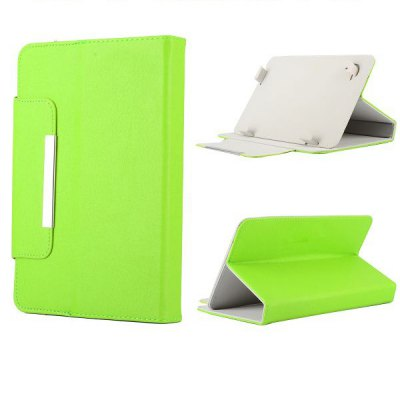 Leather Cover Protector for 9 inch Tablet PCTablet Accessories<br>Leather Cover Protector for 9 inch Tablet PC<br><br>For: Tablet<br>Features: Cases with Stand, Full Body Cases<br>Material: PU Leather<br>Style: Solid Color<br>Available Color: Green, Purple, Red, Blue<br>Product weight: 0.230 kg<br>Package weight: 0.235 kg<br>Product size (L x W x H) : 24 x 17 x 2 cm / 9.43 x 6.68 x 0.79 inches<br>Package size (L x W x H): 25 x 18 x 3 cm / 9.83 x 7.07 x 1.18 inches<br>Package Contents: 1 x Universal Folio Style Magnetic Flip Stand Leather Case