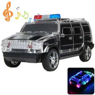 DS-H5BT Car Shape Colorful Lighting Wireless Bluetooth Hands Free Phone Speaker