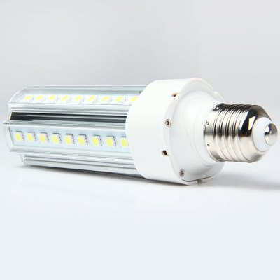 1150Lm 12W E27 SMD 5050 54 LED Lights 6000  -  6500K Clear Corn Bulb 85  -  265VLED Light Bulbs<br>1150Lm 12W E27 SMD 5050 54 LED Lights 6000  -  6500K Clear Corn Bulb 85  -  265V<br><br>Base Type: E27<br>Type: Corn Bulbs<br>Output Power: 12W<br>Emitter Type: SMD-5050 LED<br>Total Emitters: 54<br>Actual Lumen(s): 1150Lm<br>Wavelength/Color Temperature: 6000-6500K, 3000-3500K<br>Voltage (V): AC85-265<br>Appearance: Clear Shade<br>Features: Long Life Expectancy, Low Power Consumption, Energy Saving<br>Function: Home Lighting, Studio and Exhibition Lighting, Commercial Lighting<br>Available Light Color: Cold White, Warm White<br>Sheathing Material: Plastic<br>Product Weight: 0.144 kg<br>Package Weight: 0.2 kg<br>Product Size (L x W x H): 16.8 x 4.3 x 4.3 cm / 6.60 x 1.69 x 1.69 inches<br>Package Size (L x W x H): 18 x 6 x 6 cm / 7.07 x 2.36 x 2.36 inches