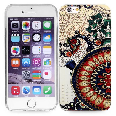 TPU Material Back Case for iPhone 6 - 4.7 inches