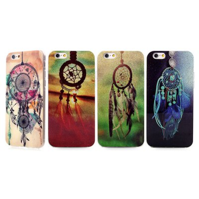 ФОТО Ultrathin Wind Chime Pattern TPU Material Back Case for iPhone 6  -  4.7 inches