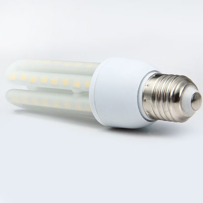 12W E27 3U 1150Lm 48 x SMD 5730 LED Corn Lamp Frosted Spotlight CFL Replacement  -  3000  -  3500K