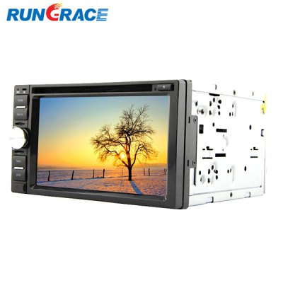 Rungrace 6.2 inch LCD Digital Touch Screen ISDB - T In - Dash Car DVD PlayerCar DVD Player<br>Rungrace 6.2 inch LCD Digital Touch Screen ISDB - T In - Dash Car DVD Player<br><br>Model: Rungrace<br>Type  : 2-DIN<br>Installation Site : In-Dash<br>Special Function  : GPS<br>Screen Type: Digital touch screen<br>Screen Size : 7inch<br>Screen Resolution : 800 x 480<br>RAM (memory): DDR2 256M<br>DVD Video Format: MP4, AVI<br>USB/SD Video Format: MP4, AVI<br>DVD Audio Format: WMA, MP3<br>Picture Format: JPEG<br>Media Format : CD, DVD-R/RW<br>OSD Language: Italian, Spanish, Chinese, Hebrew, Turkish, English, French, Arabic, Portuguese, Russian, German, Japanse<br>Product weight   : 2.900 kg<br>Package weight   : 3.050 kg<br>Product size (L x W x H)  : 17.8 x 16 x 10 cm / 7.00 x 6.29 x 3.93 inches<br>Package size (L x W x H)  : 25 x 23 x 16 cm / 9.83 x 9.04 x 6.29 inches<br>Package Contents: 1 x Host, 1 x Power Cable, 1 x GPS Antenna, 1 x TV Antenna, 1 x Remote Control
