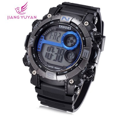 Shhors 805 Jiangyuyan Water Resistant Sports LED Watch