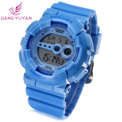 Shhors 810C Jiangyuyan Water Resistant Sports LED Watch Date Day Function