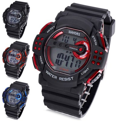 Гаджет   Shhors 820 Jiangyuyan Military LED Watch Water Resistant Day and Date for Sports Sports Watches