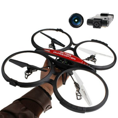 ФОТО Lishitoys L6036 2.4GHz 4CH RC Quadcopter 6 Axis Gyroscope 360 Degree Stumbling RTF UFO with 1.0MP HD Camera