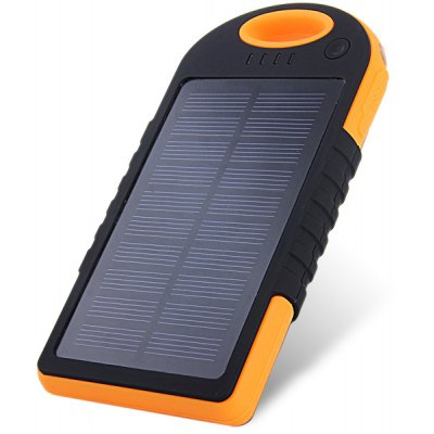 12000mAh Solar Charger Mobile Power Bank