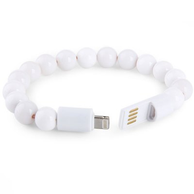 Portable 8 Pin Charging and Sync Cable of Bracelet Design