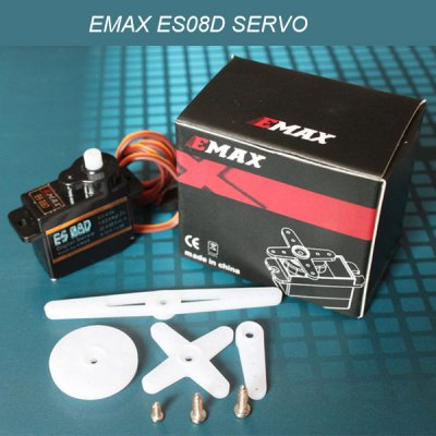 EMAX ES08D General Plastic Gear Digital Servo RC Model Spares