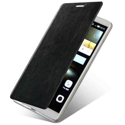 Mofi Stand Design PC and PU Material Cover Case for Huawei Mate7